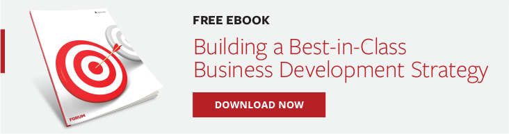 Building a Best-in-Class Business Development Strategy - Banner CTA