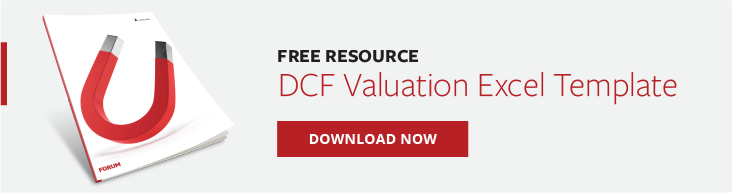 Free Excel Template Discounted Cash Flow Valuation Model