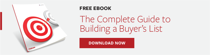 The Complete Guide to Building a Buyer's List - Banner CTA